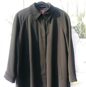 Trench Coat By Gallery Sz. M NWOT